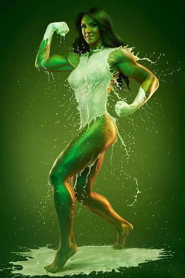 令人驚嘆的人體液態效果后期,絕了_www.16xx8.com