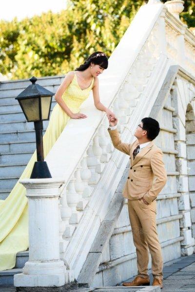 北京婚纱摄影~韩式婚纱照背景素材选择