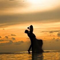 创意海景婚纱照