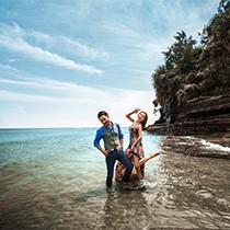 【金莎贝尔】涠洲岛特惠海景婚纱照套系