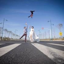 维也纳婚纱摄影3999元大气时尚外景婚纱套系
