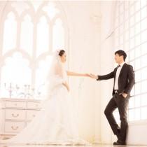 维也纳摄影实景基地高端婚纱照套餐6899婚纱套系