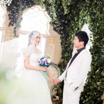 维也纳摄影实景基地3099高端婚纱套系