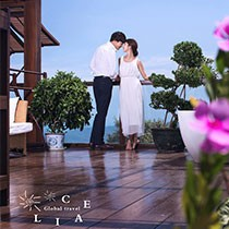 三亚希莉娅婚纱摄影 热带森林公园+分界洲岛vip套餐
