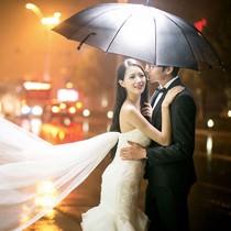 《浪漫雨夜》婚纱照系列,多种风格任选!