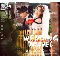 【全新主题】你的婚纱照里怎能少了这样一组街拍?